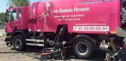Les Balais Roses