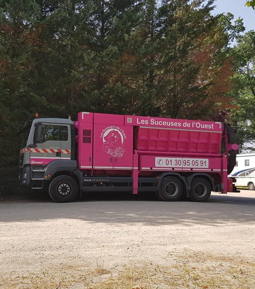 les suceuses de l ouest gerard camion aspirateur