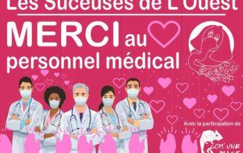 MERCI au personnel médical !