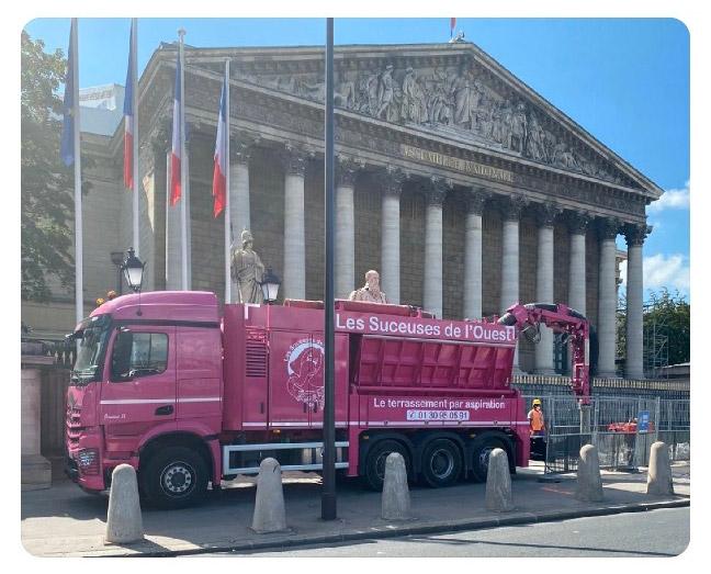 camion aspirateur les suceuses de l ouest